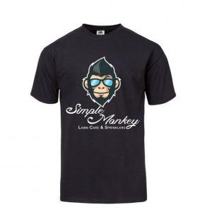 simple monkey t-shirt